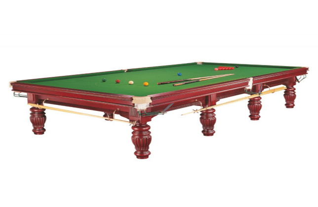 Location Billard Snooker 12ft acajou